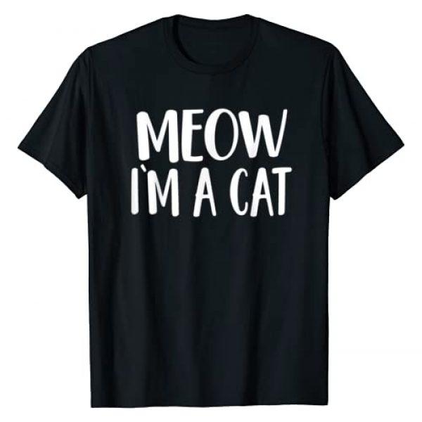 Caterpillar Graphic Tshirt 1 Meow I'm A Cat T-Shirt - Halloween