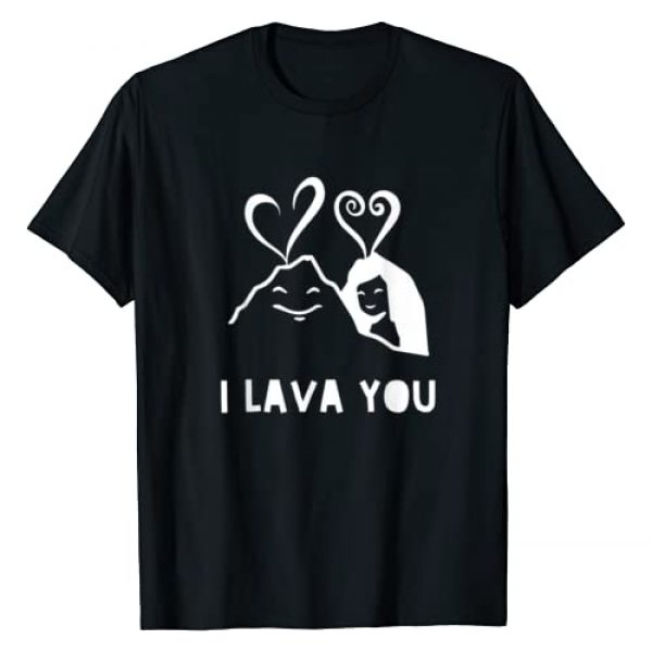 Sweet Couples Married Lovers Graphic Tshirt 1 I Lava You Valentine's Day Anniversary Birthday Christmas T-Shirt
