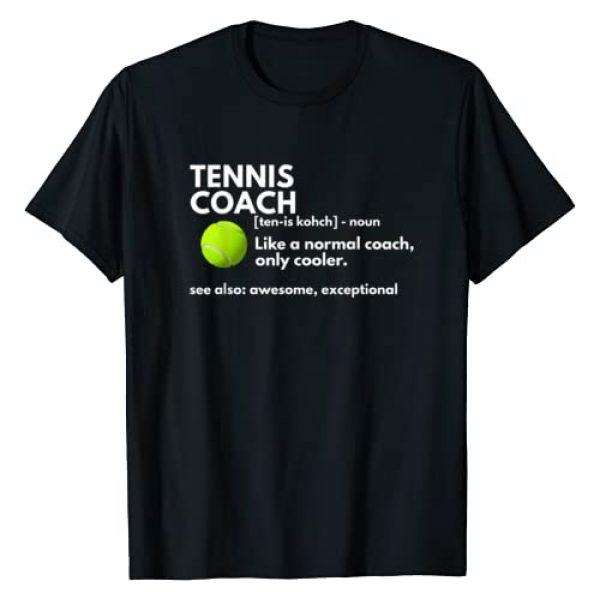 Tennis Coach Definition T-shirts Graphic Tshirt 1 Funny Tennis Coach Definition Coaching Gift T-Shirt