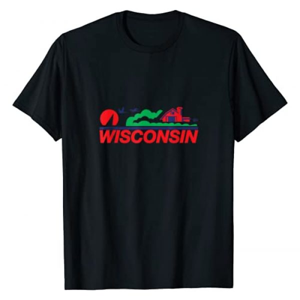 Milwaukee Wisconsin Gifts Kevin Willms Graphic Tshirt 1 Milwaukee Wisconsin License Plate TShirt Gift T-Shirt