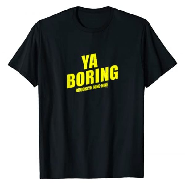 NBC Graphic Tshirt 1 Brooklyn Nine-Nine Ya Boring T-Shirt