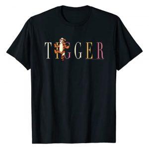 Disney Graphic Tshirt 1 Winnie The Pooh Tigger Simple Text T-Shirt