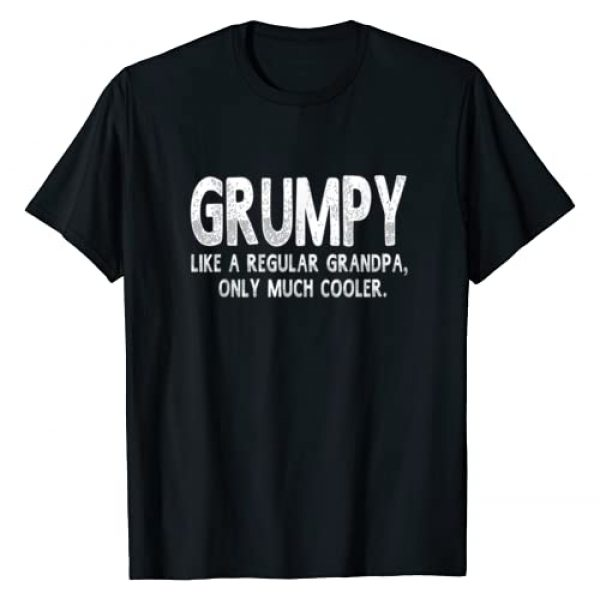 Graphic 365 Graphic Tshirt 1 Grumpy Definition Like Regular Grandpa Only Cooler Funny T-Shirt