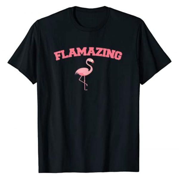 Miftees Graphic Tshirt 1 Flamazing Pink Flamingo novelty Flamingo lover T-Shirt