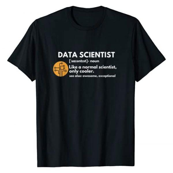 Data Scientist Definition T-shirts Graphic Tshirt 1 Funny Data Scientist Definition Computer Science T-Shirt