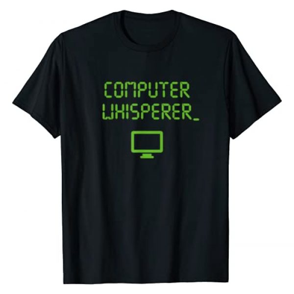 DigiLove Clothing Graphic Tshirt 1 Computer Whisperer Shirt Tech Support Nerds Geeks Funny IT T-Shirt