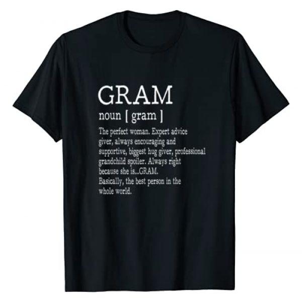 Family Tee Shirts For Men Women Graphic Tshirt 1 Gram Definition Grandma Mother Day Gifts Women T-Shirt
