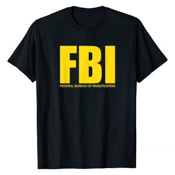 FBI T-Shirt, Original Federal Special Agent Outfit Graphic Tshirt 1 FBI Shirt, Federal Bureau of Investigation Logo Classic T-Shirt