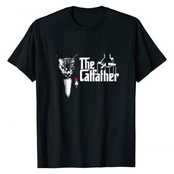 Cats Cats Cats Graphic Tshirt 1 The CatFather T Shirt, Father Of Cats T Shirt, Funny Cat Dad