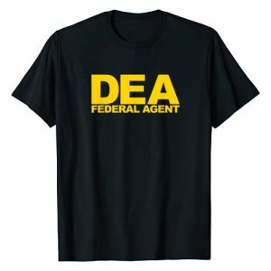 Official Federal Agent Apparel Graphic Tshirt 1 DEA Federal Agent T-Shirt
