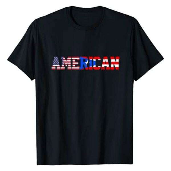 Puerto Rico - Puerto Rican Pride Gifts & Apparel Graphic Tshirt 1 Puerto Rico Pride Flag American Puerto Rican Pride Gift T-Shirt