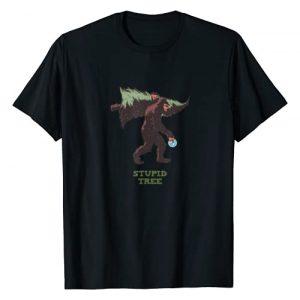 Crazy Fun Designs - Sports Graphic Tshirt 1 Bigfoot - Disc Golf - Stupid Tree T-Shirt