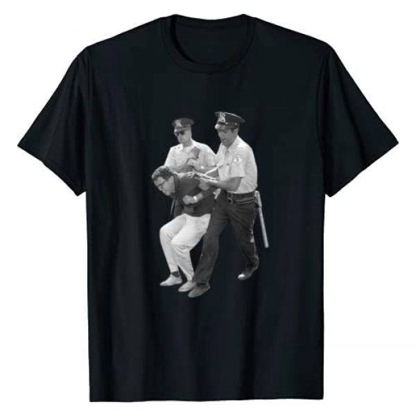 Bernie Sanders President Election Political Gifts Graphic Tshirt 1 Bernie Sanders Arrested Protest Activist Democrat Gift T-Shirt