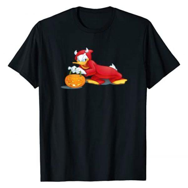Disney Graphic Tshirt 1 Halloween Donald Duck Devil T-Shirt
