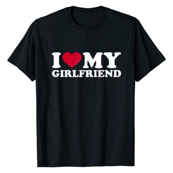Girlfriend Graphic Tshirt 1 I love my girlfriend T-Shirt
