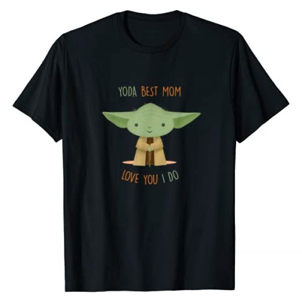 Star Wars Graphic Tshirt 1 Yoda Best Mom Love You I Do T-Shirt