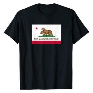 California Republic Graphic Tshirt 1 New California Republic - NCR Flag T-Shirt