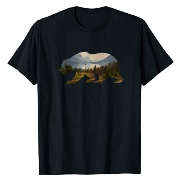Retro National Park Shirts Graphic Tshirt 1 Preserve & Protect Vintage National Park Bear Wildlife T-Shirt