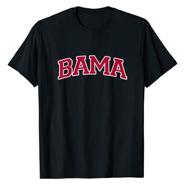 Alabama Gifts by MCMA Graphic Tshirt 1 Bama - Alabama Gifts AL State Graphic T-Shirt