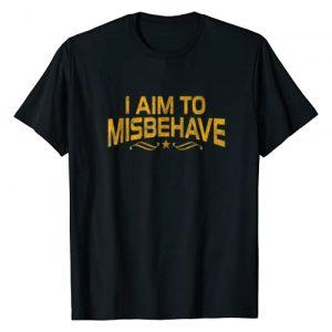 Dangerous - Aim to Misbehave Shirt Graphic Tshirt 1 I Aim To Misbehave T Shirt