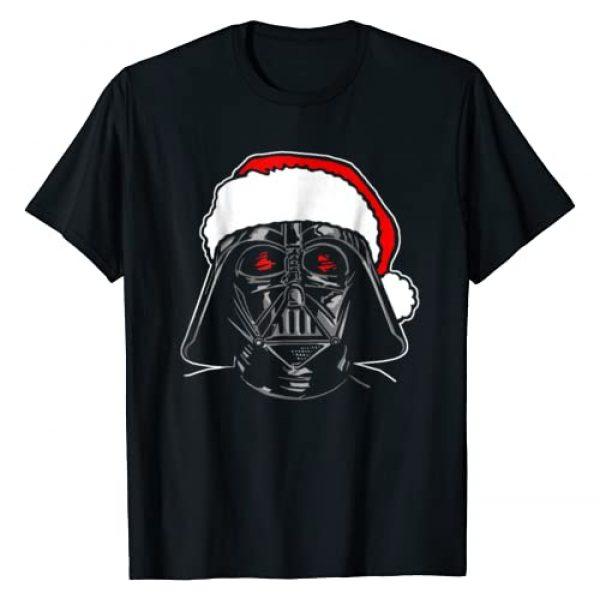 Star Wars Graphic Tshirt 1 Santa Darth Vader Sketch Christmas Graphic T-Shirt