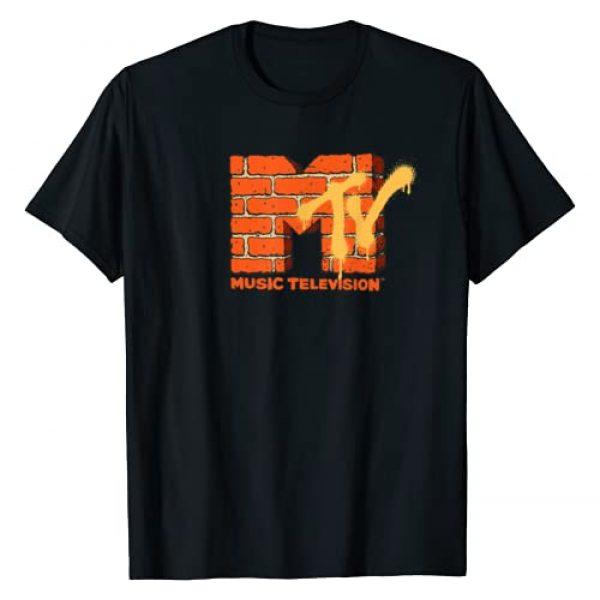 MTV Graphic Tshirt 1 Yellow And Orange Brick Graphic T-Shirt