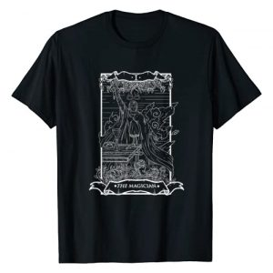 Live Love Tarot Graphic Tshirt 1 Tarot Card The Magician I Occult Vintage T-Shirt