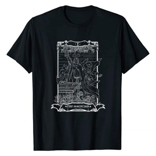 Live Love Tarot Graphic Tshirt 1 Tarot Card The Magician I Occult Vintage T-Shirt