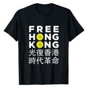 Free Hong Kong Umbrella Protest Tees Graphic Tshirt 1 Free Hong Kong - Umbrella Revolution Protest T-Shirt