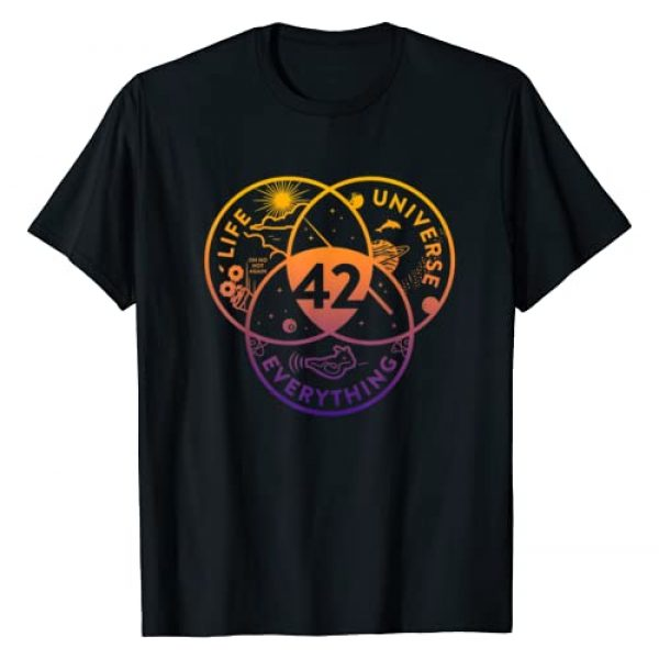 The Answer To Life Universe And Everything Shirts Graphic Tshirt 1 The Answer To Life Universe And Everything T-shirt