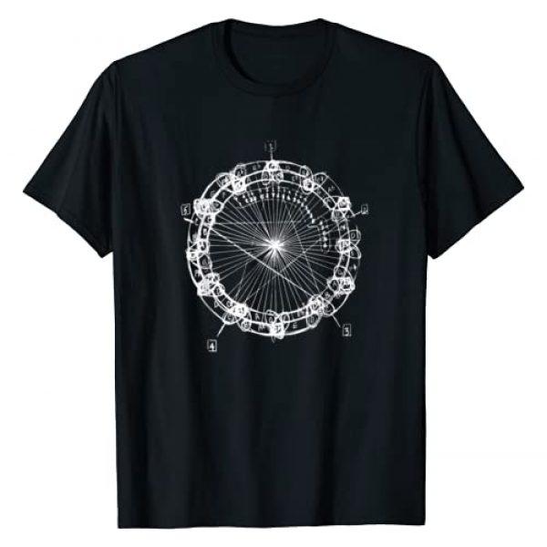 BauWau Design Graphic Tshirt 1 Coltrane Chord Changes Mandala T-Shirt
