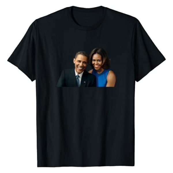 Barack and Michelle Obama gift and tee Graphic Tshirt 1 Barack and Michelle Obama gift I love Obama's Black Proud T-Shirt