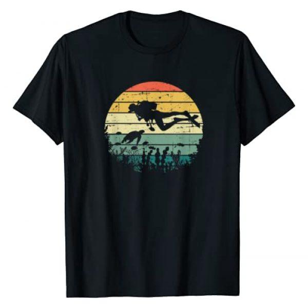 Diver Gifts Dive Diving Graphic Tshirt 1 Funny Vintage Scuba Diving Dive Diver T-Shirt