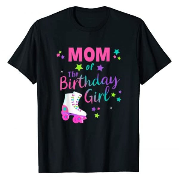 80's Decades Birthday Tees Graphic Tshirt 1 Roller Skate Birthday Mom Shirt Matching Family Group Outfit