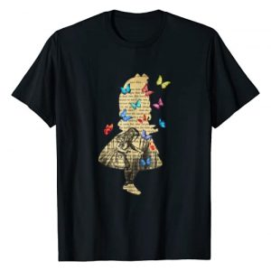 Gypsy Queen Graphic Tshirt 1 Alice In Wonderland Vintage Book T Shirt Design