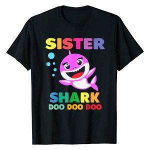 Shark Doo Doo Doo Tees Graphic Tshirt 1 Sister Shark T-Shirt Doo Doo Mommy Daddy Brother Baby Tshirt T-Shirt