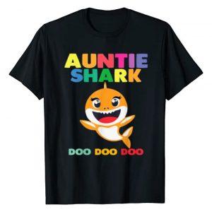 Baby Shark Family by Zum2 Graphic Tshirt 1 Auntie Shark Doo Doo Shirt for Matching Family Pajamas T-Shirt