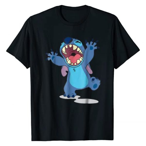 Disney Graphic Tshirt 1 Lilo and Stitch Growl T-shirt