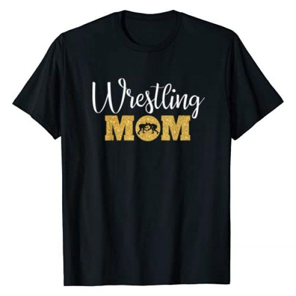 Funny Wrestling Gifts for Women and Moms Graphic Tshirt 1 Wrestling Mom Funny Wrestling Gift for Women Wrestler Mom T-Shirt
