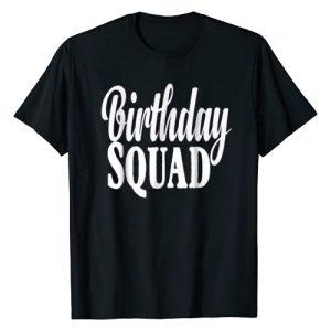 Birthday Squad T-Shirt Graphic Tshirt 1 Birthday Squad Gift