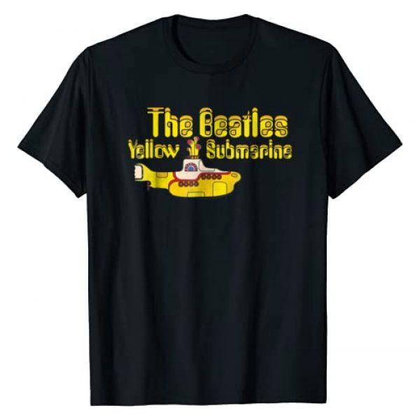 The Beatles Graphic Tshirt 1 Yellow Submarine Logo T-shirt