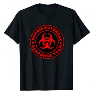 Miftees Graphic Tshirt 1 Zombie Outbreak Response Team funny Zombie Apocalypse T-Shirt