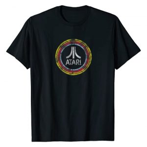 Atari Graphic Tshirt 1 Atari Logo in Circles T-shirt
