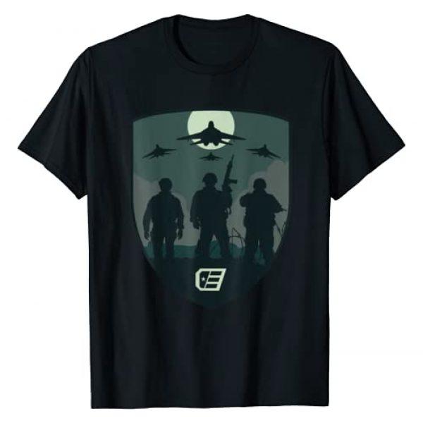 """Call of Duty Endowment Graphic Tshirt 1 """"Shield"""" T-Shirt"""