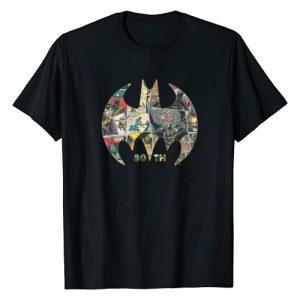 DC Comics Graphic Tshirt 1 Batman 80th Anniversary Shield Logo T-Shirt