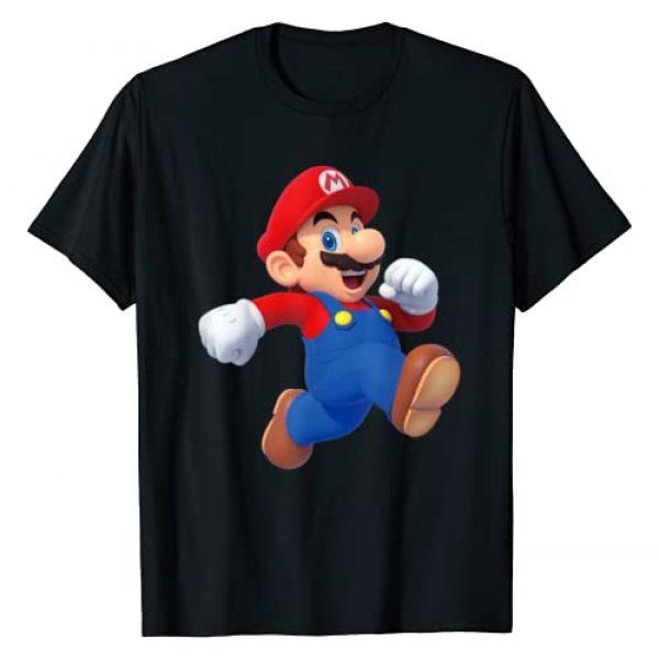 SUPER MARIO Graphic Tshirt 1 Running Mario 3D Poster T-Shirt
