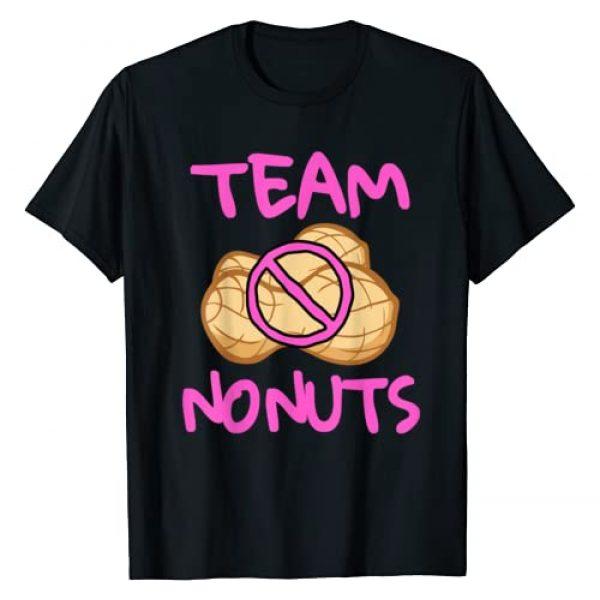 Team Nuts Gender Reveal Tees Graphic Tshirt 1 Team No Nuts Funny Team Girl Baby Gender Reveal T-Shirt