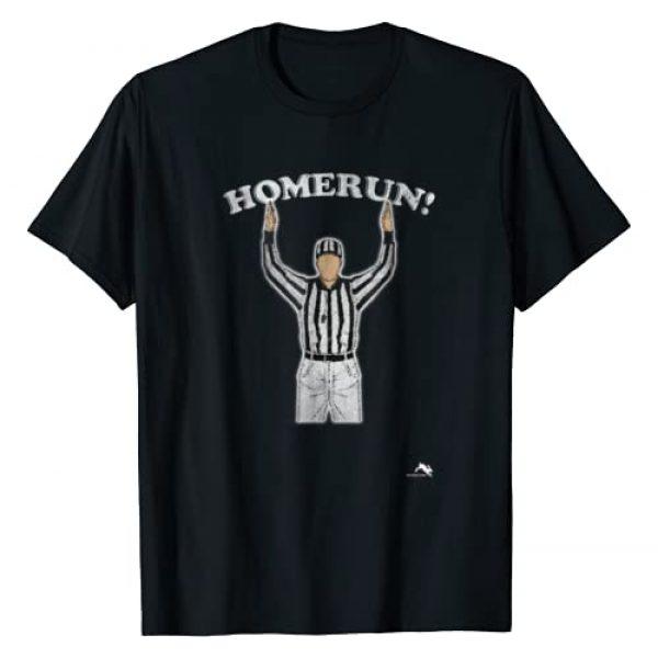 Mixed Up Sports Graphic Tshirt 1 Funny HomeRun T-shirt Baseball Football Mash Up