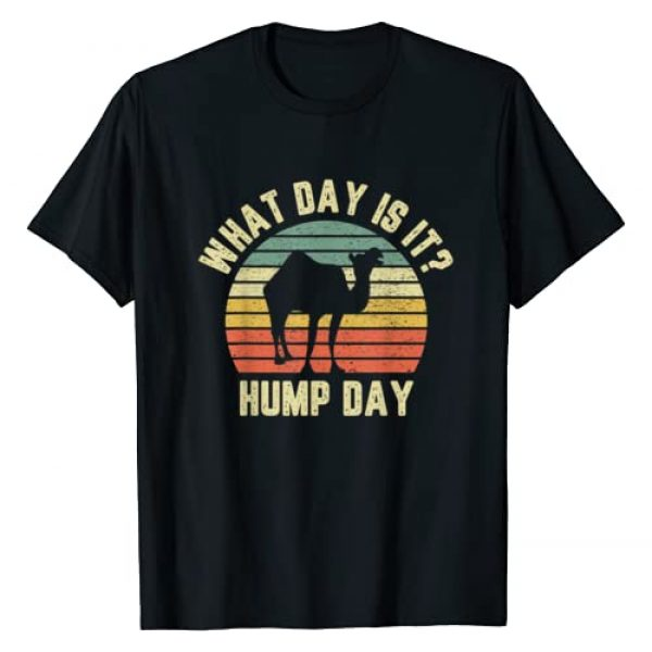 Hump Day Camel Apparel Graphic Tshirt 1 What Day Is It Camel Tshirt Retro Funny Hump Day T-Shirt