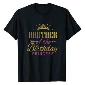Keep Calm Birthday Gift Tee Shirts Graphic Tshirt 1 Brother Of The Birthday Princess Girls Party T-Shirt
